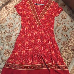 Cute Red summer dress from Amazon